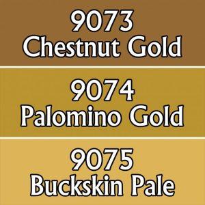 9725 : Reaper Paint Triad - Ochre Golds