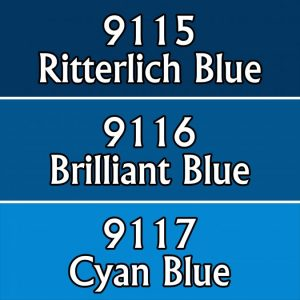 9739 : Reaper Paint Triad - Vivid Blues
