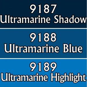9763: Reaper Paint Triad - Ultramarine Blues.