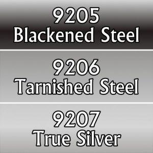 9769: Reaper Paint Triad - Natural Steel