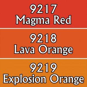 9773: Reaper Paint Triad - Lava Colors