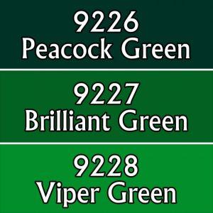 Reaper Paint Triad 9766 Brilliant Greens