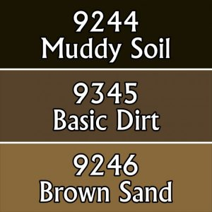 9782 : Reaper Paint Triad - Soil Colors