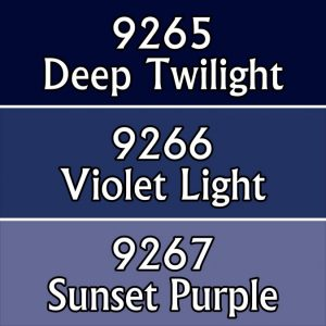 9789 : Reaper Paint Triad - Evening Colors