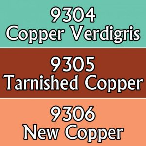 9802 : Reaper Paint Triad - Copper Colors