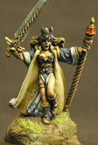 14001 Elaandaria, Female Wizard