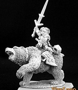 14433 Ursula, Dwarven Bear Rider Captain