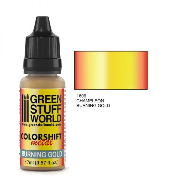 Burning Gold Colorshift Paint
