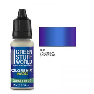 Cobalt Blue Colorshift Metallic Paintt
