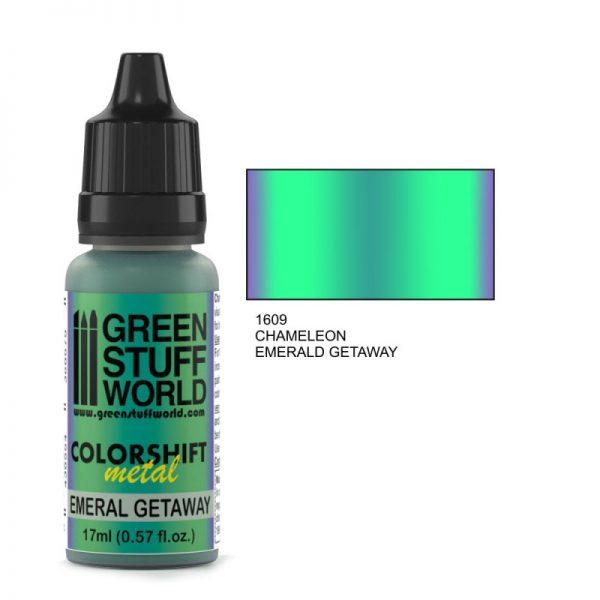 Emerald Getaway Colorshift Paint