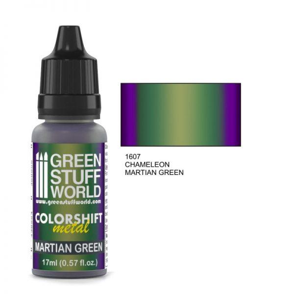 Martian Green Colorshift Paint