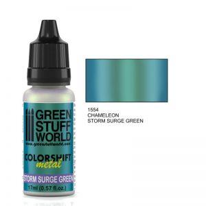 Storm Surge Green Colorshift Paint