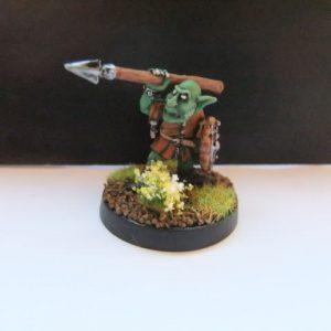 mmka0016 Shadow Goblin with Spear 3