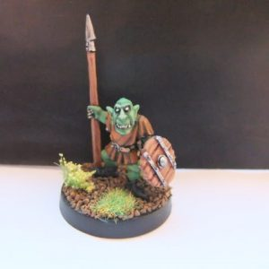 mmka0014 Shadow Goblin with Spear 1