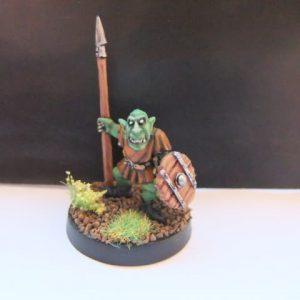 mmka0014 Shadow Goblin with Spear 1