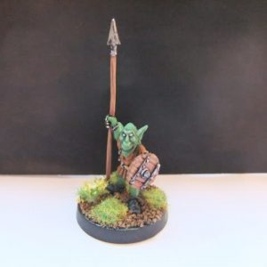 mmka0015 Shadow Goblin with Spear 2