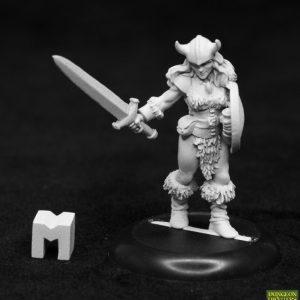 7025 Jana Frostwind, Female Human Barbarian