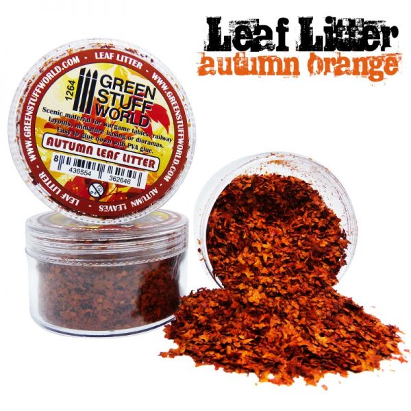 Autumn Orange Leaf Litter