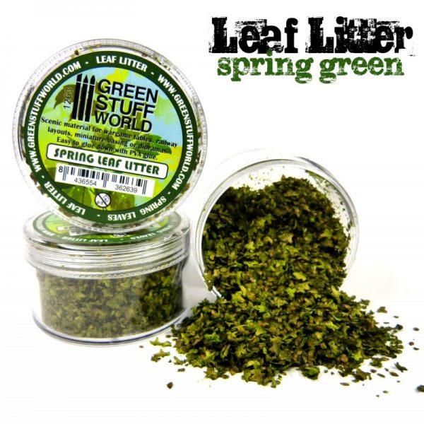 Spring Green Leaf Litter