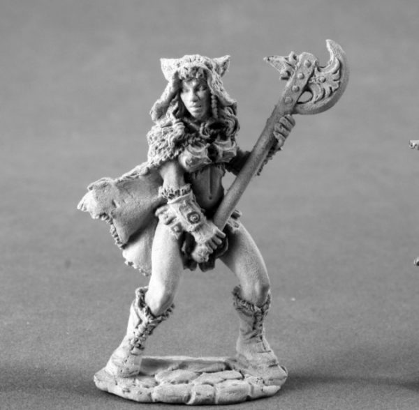 4008 Kyrie, Female Barbarian