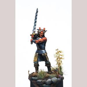 DSM7369 Male Demonkin Warrior with Great Sword
