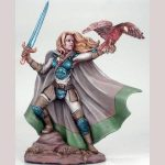 DSM7409 : Female Ranger with Falcon