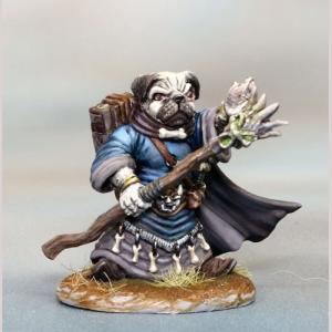 DSM8148 Pug Mage with Staff