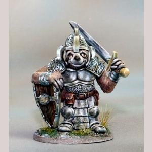 DSM8144 Sloth Paladin with Sword and Shield