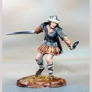 DSM7372 Female Warrior, Duel Wield