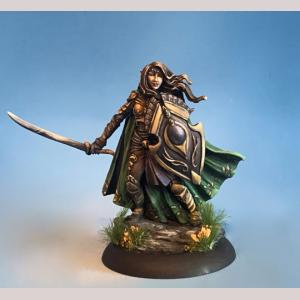 DSM7498 Female Elven Warrior