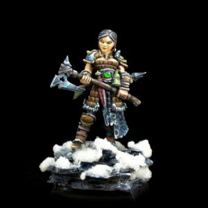 4010 Hanei, Female Warrior