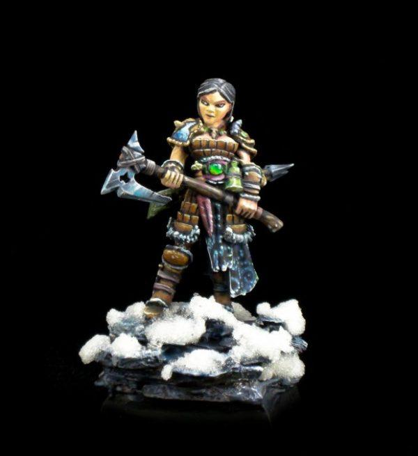 4010 Hanei, Female Warrior