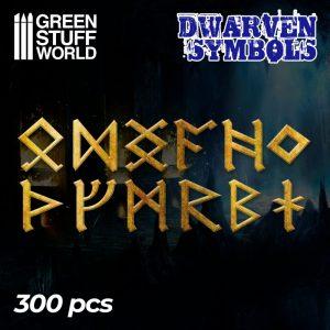 Etched Brass - Dwarven Runes & Symbols