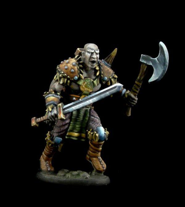 4011 Maskarr Stoneskin - Half Giant Warrior