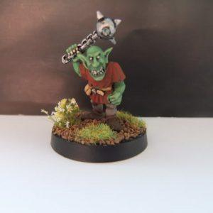 mmka0011 Shadow Goblin with Mace