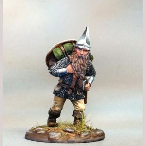 DSM7376 Marching Male Dwarven Warrior