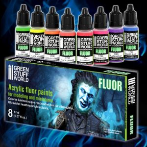 GSW Flourescent Paint Set (8)
