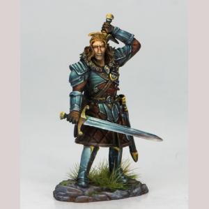 DSM7109 Duel Wield Warrior with Swords