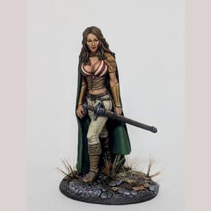 DSM1232 Female Rogue with Long Sword