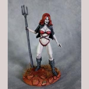 DSM1199 Female Pinup Demoness