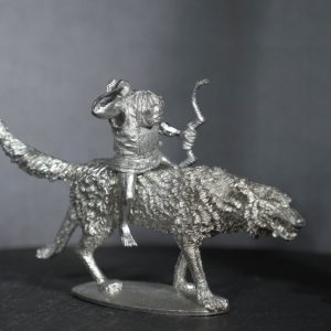 TMM88543 Goblin Archer, Giant Wolf Rider in Leather Armour