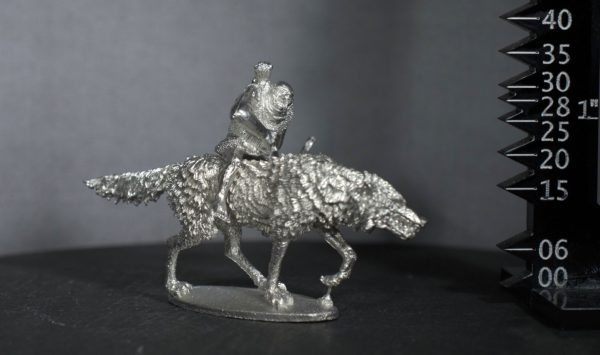 TMM88544 Goblin Giant Wolf Rider in Chainmail