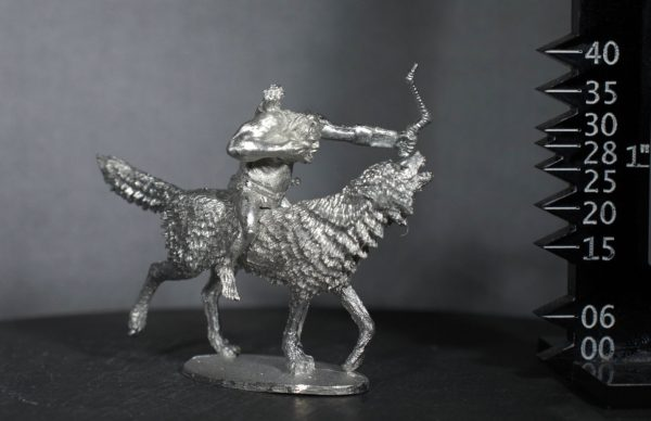 TMM88545 Unarmoured Goblin Giant Wolf Rider