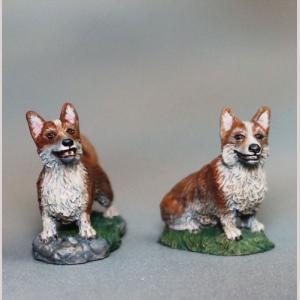 DSM7832 Corgi Dogs