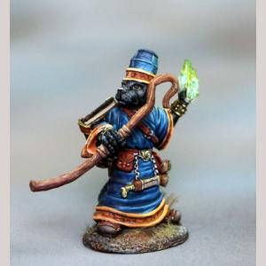 DSM8154 Labrador Mage with Staff