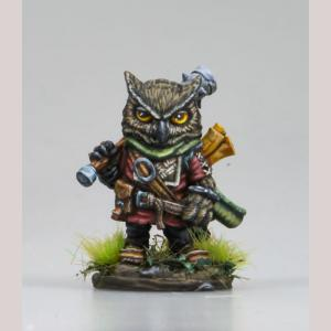 DSM8156 Owl Cleric with Mace