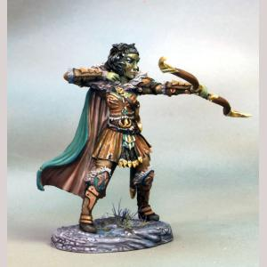 DSM7115 Female Half Orc Ranger with Bow