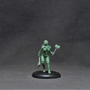 BOWO0008 Female Human Ranger, '1st Mate Shakeera Abbot'