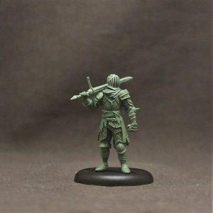 BOWO0011 Male Human Knight, 'Hagen'