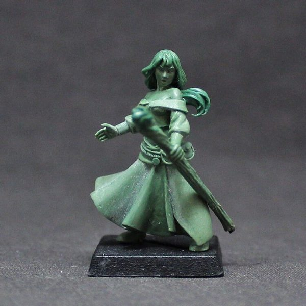 BOWO0014 Female Human Wizard, 'Mirhiban Al'Orhima'